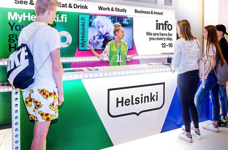 Palvelukartta Helsinki